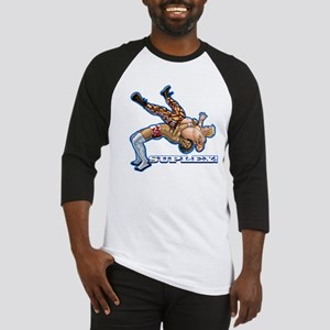 Suplex! Pro Wrestling Tee Baseball Jersey