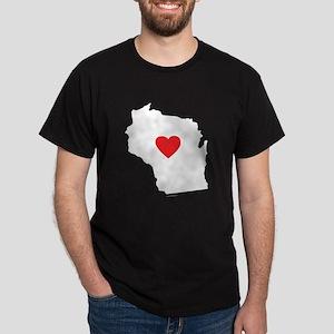 I Love West Virginia Dark T-Shirt