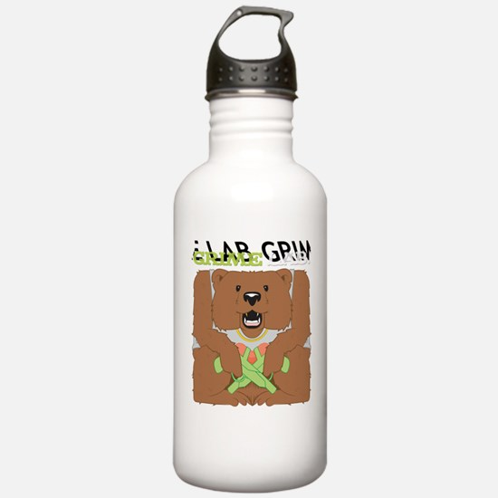 Grime Lab Bear Water Bottle