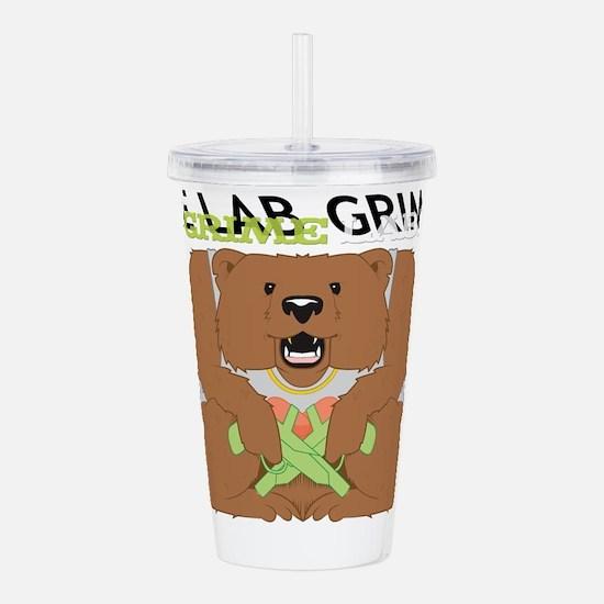 Grime Lab Bear Acrylic Double-wall Tumbler