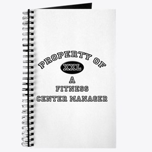 Property of a Fitness Center Manager Journal