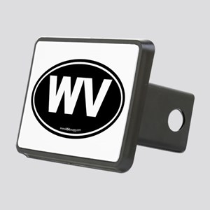 West Virginia WV Euro Oval Rectangular Hitch Cover