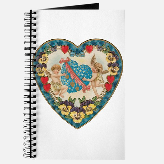 Vintage Valentine's Day Journal