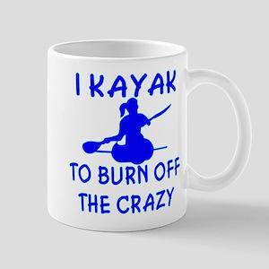 I Kayak To Off Crazy Mug