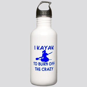 I Kayak To Off Crazy Stainless Water Bottle 1.0L