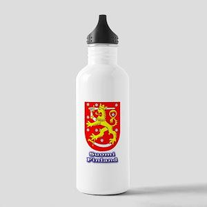 suomenvaakuna2 Sports Water Bottle