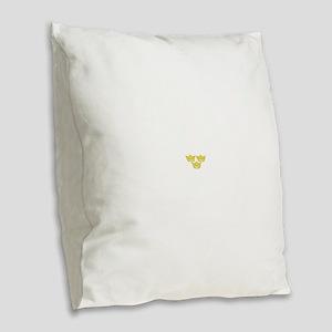 tre-kronor Burlap Throw Pillow