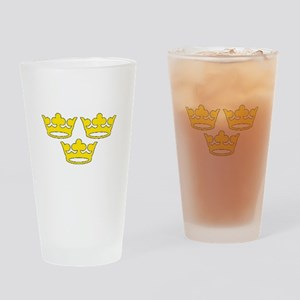 tre-kronor Drinking Glass