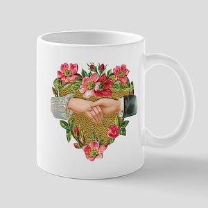 Vintage Valentine's Day Mugs