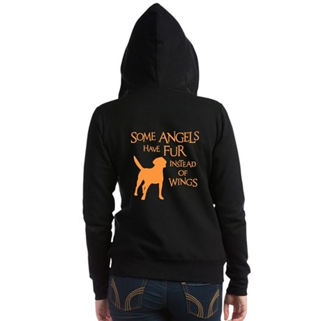 LAB ANGEL (both sides) Women's Zip Hoodie