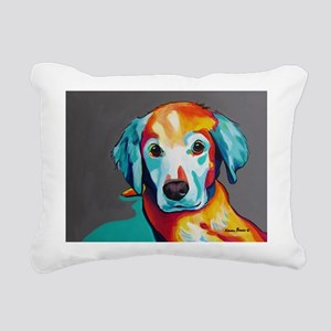 Scoobs Rectangular Canvas Pillow