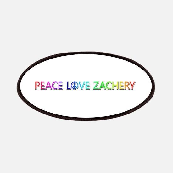 Peace Love Zachery Patch