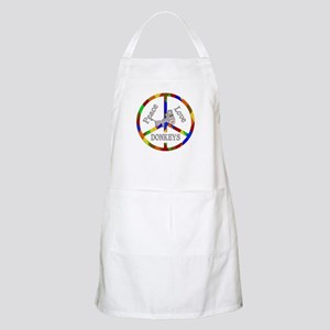 Peace Love Donkeys Apron