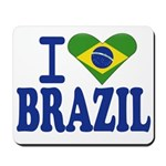 I love Brazil Mousepad