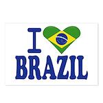 I love Brazil Postcards (Package of 8)