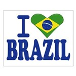 I love Brazil Small Poster