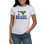 I love Brazil Women's T-Shirt