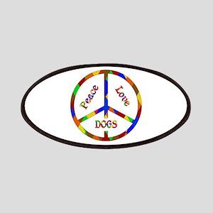 Peace Love Dogs Patch