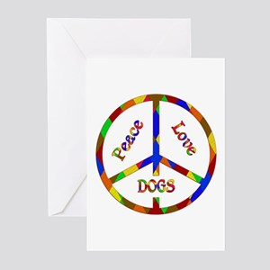 Peace Love Dogs Greeting Cards (Pk of 10)
