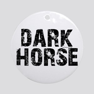 Dark Horse. Attitude Ornament (Round)