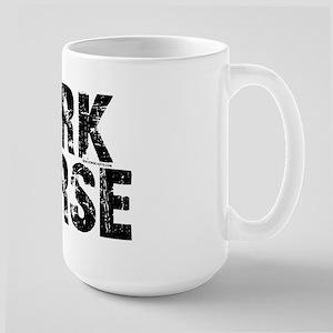 Dark Horse. Attitude Large Mug