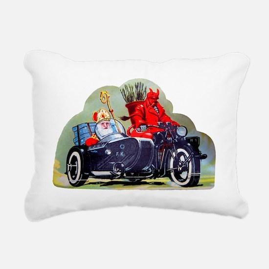 Cute Santa clause christmas day Rectangular Canvas Pillow