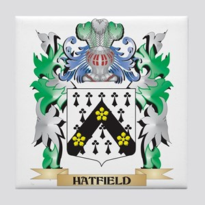 Hatfield Coat of Arms (Family Crest) Tile Coaster