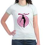 Wanna Fence? Jr. Ringer T-shirt