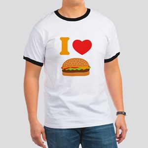 I Love Cheeseburgers Ringer T