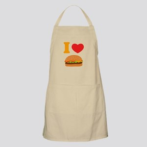 I Love Cheeseburgers Apron