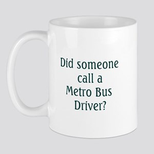 Metro Bus Driver Mug