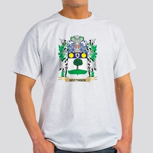 Hattrick Coat of Arms (Family Crest) T-Shirt