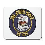 USS JOSEPH HEWES Mousepad