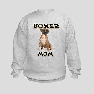 Boxer Mom Kids Sweatshirt