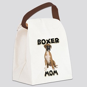 Boxer Mom Canvas Lunch Bag