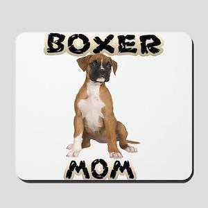 Boxer Mom Mousepad