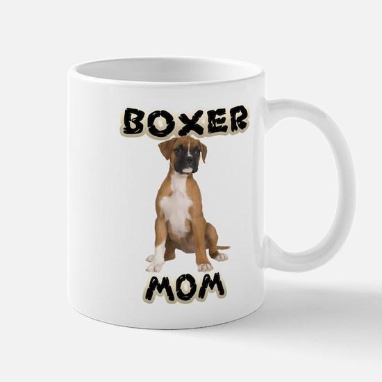 Boxer Mom Mugs