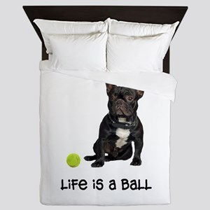 French Bulldog Life Queen Duvet