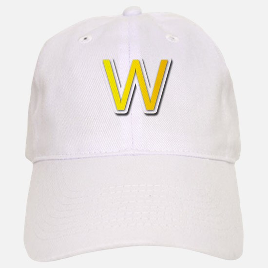 W Baseball Baseball Cap