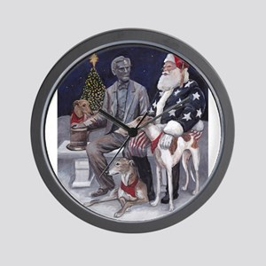 Civil War Christmas in Gettysburg Wall Clock