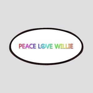 Peace Love Willie Patch