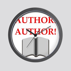 author Wall Clock