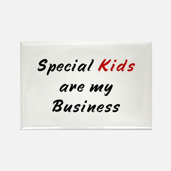 Special Education Teacher Rectangle Magnet (100 pa