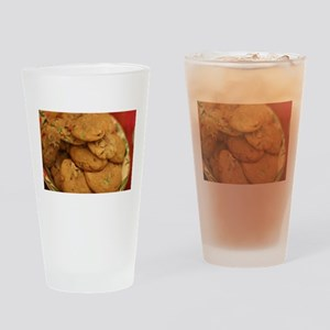 cookies with candy chips Drinking Glass