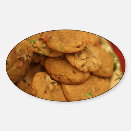 cookies with candy chips Decal