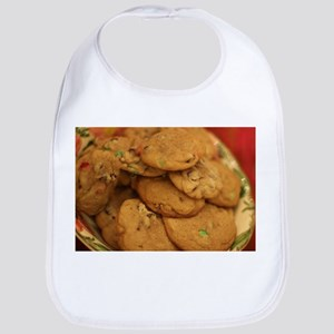 cookies with candy chips Bib