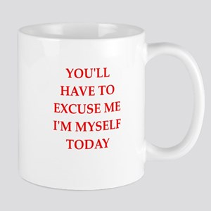 excuse Mugs