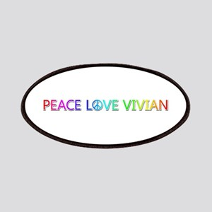 Peace Love Vivian Patch