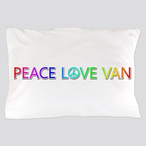 Peace Love Van Pillow Case