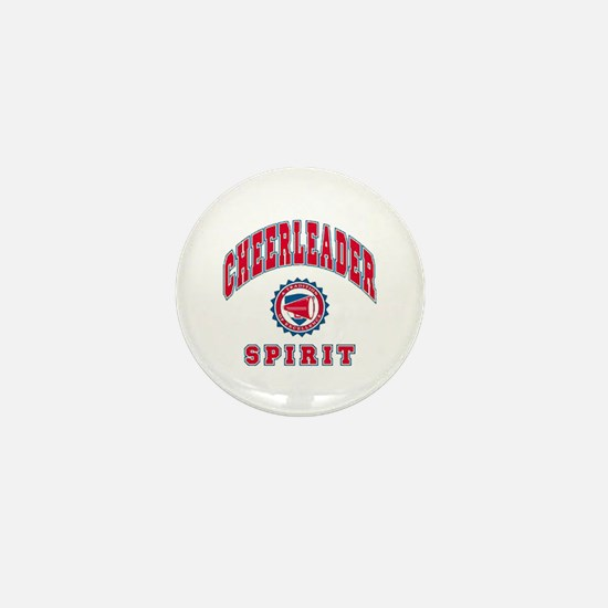 Cheerleader Spirit Mini Button